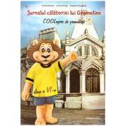 Jurnalul calatoriei lui Gramolino. COOLegere de gramatica, clasa a VI-a (Editura Nomina, Autori: Corina Popa, Corina Barbu, Gratiana Popescu ISBN 9786065358676)