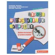 Biroul detectivilor literari/Ateliere de lectura si scriere creativa clasa a 3 a (Editura: Paralela 45, Autor: Camelia Burlan ISBN 9789734732012)