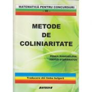 Metode de coliniaritate(Editura: Sitech, Autor(I): Penka Ranghelova, Ivaylo Staribratov ISBN 9786061119523)