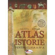 Atlas de istorie pentru clasa a 4 a (Burtea)(Editura: Aramis, Autor: Doina Burtea, Alina Pertea ISBN 9786067064605)