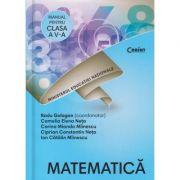 Matematica manual pentru clasa a 5 a+CD(Editura: Corint, Autor(i): Radu Gologan, Camelia Elena Neta, Corina Mianda Miinescu ISBN 9786069404492)