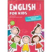 English for kids caiet de lucru pentru clasa pregatitoare. Avizat MEN 3530/2018 ( Editura: Booklet Autor: Cristina Mircea ISBN 9786065907522 )
