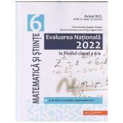 Evaluarea Nationala la finalul clasei a 6 a, Matematica si stiinta 2022(Editura: Paralela 45, Autor(i): Florin Antohe, Bogdan Antohe, Marius Antonescu ISBN 9789734734474)