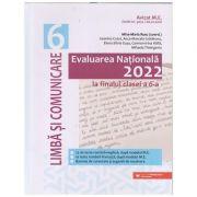 Evaluarea Nationala la finalul clasei a 6 a 2022 Limba si Comunicare (Editura: Paralela 45, Autor: Rusu Mina- Maria ISBN 9789734734467)