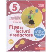 Fise de lectura si redactare clasa a 5 a (Editura: Paralela 45, Autor(i): Cristina Cergan, Cristina Radu, Iris Tanasescu ISBN 9789734734498)