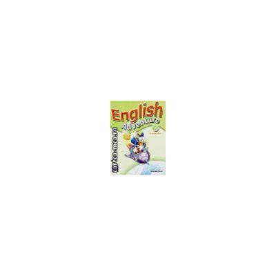 ENGLISH ADVENTURE STARTER A ACTIVITY BOOK(editura Longman, autor: CRISTIANA BRUNI isbn: 0-582-79140-5)