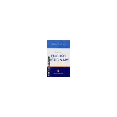 Pocket english dictionary(editura Longman isbn:0-141-01858-5)