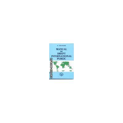 Manual de drept international public