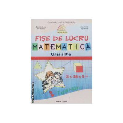 Fise de lucru matematica clasa a IV-a
