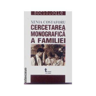 Cercetarea monografica a familiei