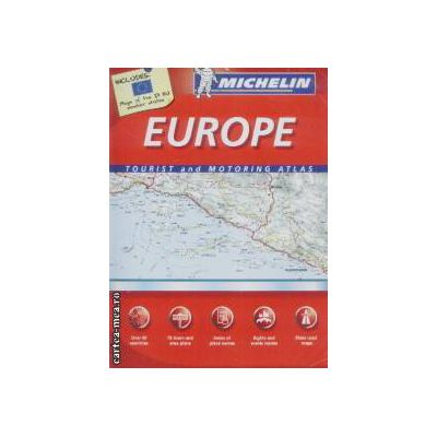 Europe tourist and motoring atlas