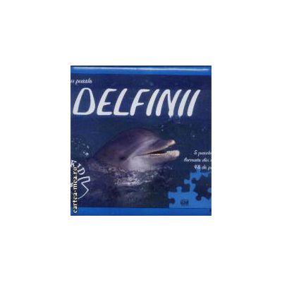Invatati cu puzzle Delfinii