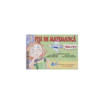 Fise de matematica pentru clasa a II-a