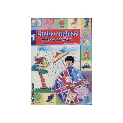 Limba engleza pentru cei mici nr 1+CD