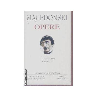 Opere Macedonski vol III