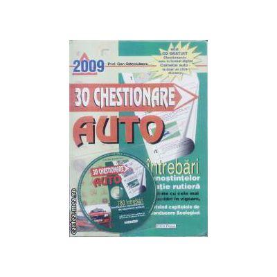 30 de Chestionare auto 780 de intrebari + CD