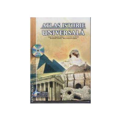 Atlas istorie universala + CD