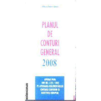 Planul de conturi general 2008