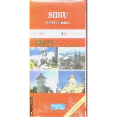 Sibiu harta turistica