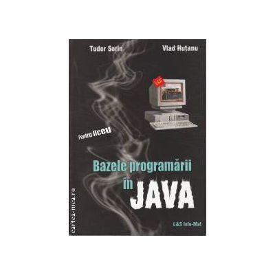 Bazele programarii in JAVA pentru liceu