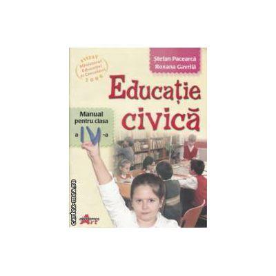 Educatie civica manual pentru clasa 4 a