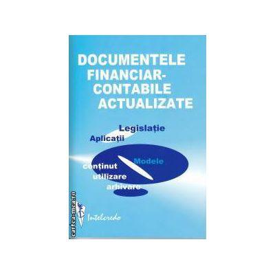 Documentele financiar Contabile actualizate