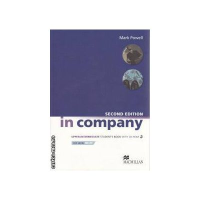 In Company Second Edition Upper Intermediate Student's Book + CD