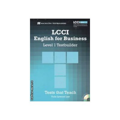 LCCI English for Business Level 1 Testbuilder with CD