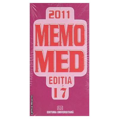 MEMOMED 2011+ Ghid farmacoterapic alopat si homeopat