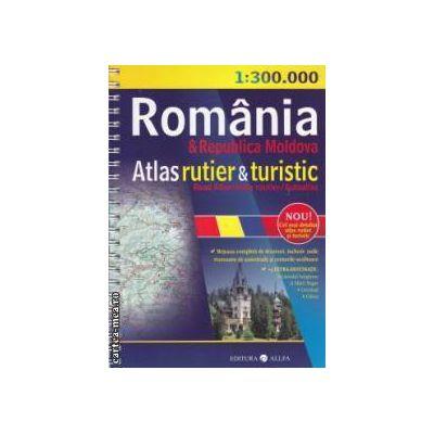Romania si Republica Moldova Atlas rutier si turistic ( editura: All, autor: Constantin Furtuna ISBN: 978-973-724-449-9 )