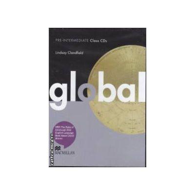 Global Pre - Intermediate: Class CD ( editura: Macmillan, autor: Lindsay Clandfield ISBN 978-0-230-03313-9 )