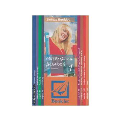 Sinteze Booklet - Matematica: Algebra 1 ( editura: Booklet, autor: Felicia Sandulescu ISBN 978-973-1892-86-3 )