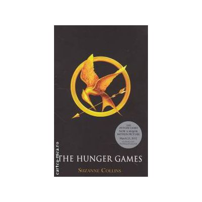 The hunger games ( Editura : Scholastic , Autor : Suzanne Collins ISBN 978-1-407135-13-7 )