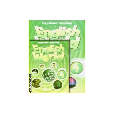 PROMOTIE : English World 4 Pupil ' s book + Workbook ( editura : Macmillan , autori : Mary Bowen , Liz Hocking )