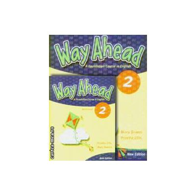 PROMOTIE : Way Ahead 2 Pupil ' s book + Workbook ( editura : Macmillan , autori : Printha Ellis , Mary Bowen )