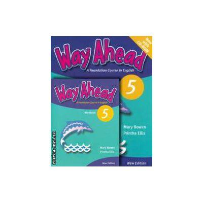 PROMOTIE : Way Ahead 5 Pupil ' s book with CD - ROM + Workbook ( editura : Macmillan , autori : Printha Ellis , Mary Bowen )