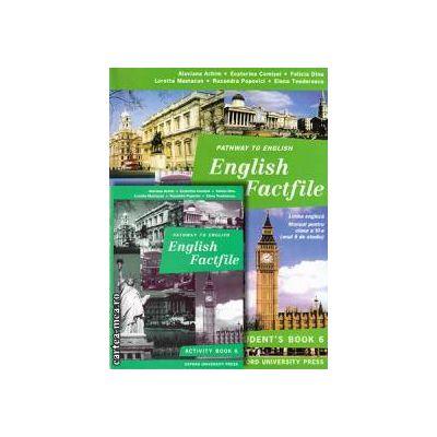 PROMOTIE : English Factfile Student ' s book + Activity book clasa a 6 a ( editura : Oxford University Press , autori : Alavina Achim , Ecaterina Comisel , Loretta Mastacan )
