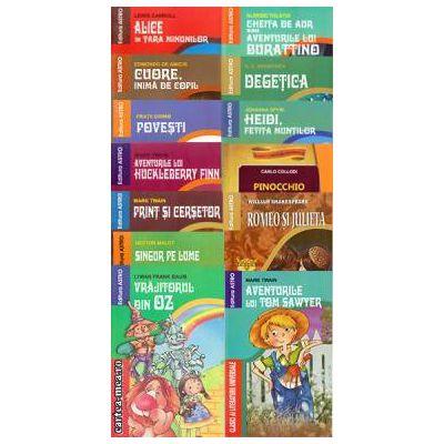 Pachet 14 carti din colectia Clasici ai Literaturii Universale