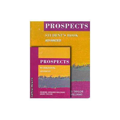 PROMOTIE : Prospects Student ' s book + Workbook ( editura : Macmillan , autori : Philip Prowse , Judy Garton - Sprenger )