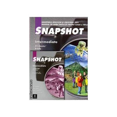 PROMOTIE : Snapshot Intermediate Student ' s book + Workbook ( editura : Longman , autori : Brian Abbs , Ingrid Freebairn , Chris Barker )