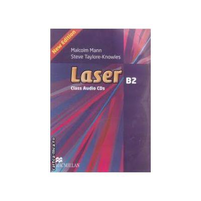 Laser B2 Class Audio CDs ( editura: Macmillan, autori: Malcolm Mann, Steve Taylore - Knowles ISBN 978-0-230-43391-5 )