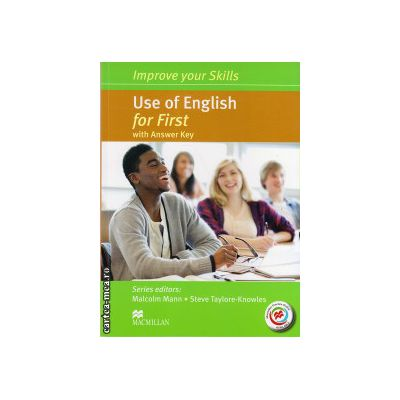 Improve Your Use of English Skills for First Student's Book with key & MPO Pack ( editura: Macmillan, autor: Malcolm Mann, ISBN 9780230460942 )