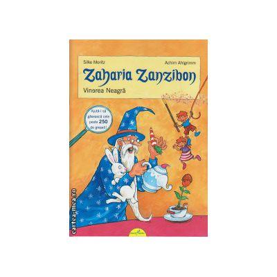 Zaharia Zanzibon vol I: Vinerea Neagra ( editura: Galaxia Copiilor, autor: Silke Moritz, ISBN 9786068578033 )