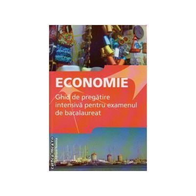 Economie - ghid de pregatire intensiva pentru examenul de bacalaureat ( editura : Nomina , autor : Gabriel Hacman , ISBN 978-606-535-573-6 )