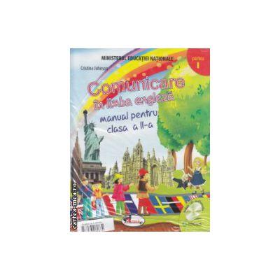 Comunicare in limba engleza manual pentru clasa II a partea I si partea II cu CD multimedia ( Editura: Aramis, Autor: Cristina Johnson ISBN 786067060874 )