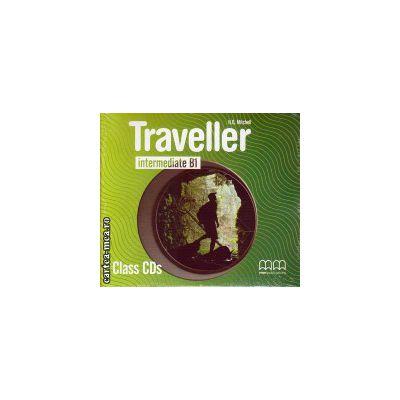Traveller Intermediate B1 Class CDs ( editura : MM Publications , ISBN 978-960-443-594-4 )
