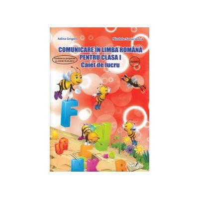 Comunicare in limba romana pentru clasa I ( Editura: Ars Libri, Autor: Adina Grigore, Nicoleta Sonia Ionica ISBN 9786065743885 )
