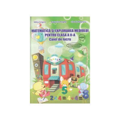 Matematica si explorarea mediului pentru clasa a II a caiet de lucru ( Editura: Ars Libri, Autor: Adina Grigore, Augustina Anghel, Claudia Negritoiu ISBN 9786065744257 )