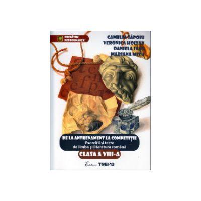 Matematica exercitii, probleme si teste clasa a VIII a ( Editura: Trend, Autor: Monica Topana, Adina Giuclea, Mihaela Diaconu ISBN 97860683706510 )