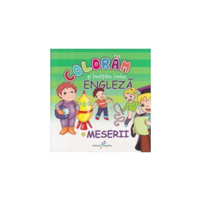 Coloram si invatam limba engleza meserii ( Editura: All ISBN 978-606-8578-35-4 )
